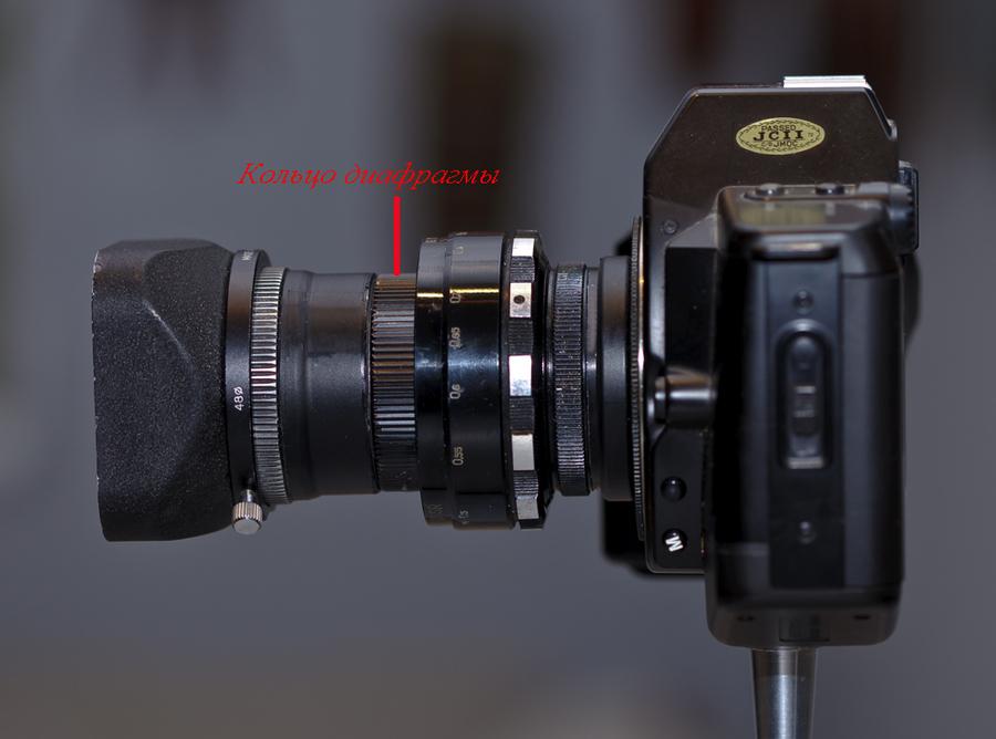 Самодельный объектив для фотоаппарата