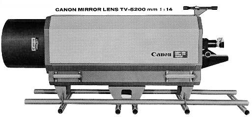 Canon 5200mm — самый большой в мире фотообъектив